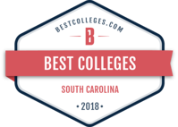 Rated #1 university in South Carolina by BestColleges.com